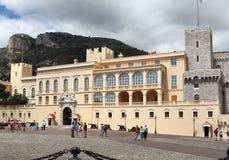 Palais du ` s de prince dans la ville du Monaco Photographie stock libre de droits
