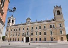 Palais ducal de Colorno. l'Emilia-romagna. l'Italie. Photographie stock libre de droits
