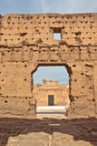 Palais El Badi (El Badi Palace) Stock Images