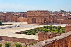 Palais El Badi (El Badi Palace) Royalty Free Stock Photography