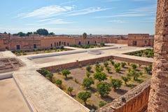 Palais El Badi (El Badi Palace) Royalty Free Stock Photos