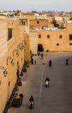 Palais El Badii surrunding ulicy Obrazy Stock