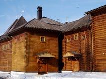 Palais en bois dans Kolomenskoye photo libre de droits