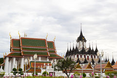 Palais en métal de Loha Prasat Images stock