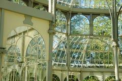 Palais en verre Photo libre de droits