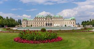 Palais et jardins de belvédère à Vienne photographie stock libre de droits