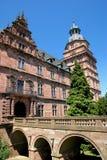 Palais et jardins de Johannisburg Image libre de droits