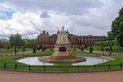 Palais et jardins de Kensington Photo libre de droits