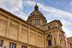 Palais et Placa de Espanya - Barcelone nationaux Photographie stock
