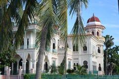 Palais exotique au Cuba photo libre de droits
