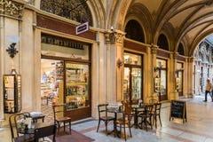 Palais Ferstel在维也纳 免版税库存图片
