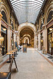 Palais Ferstel In Vienna. VIENNA, AUSTRIA - AUGUST 09, 2015: Palais Ferstel originally housed the Austro-Hungarian National Bank and the Stock Exchange as well Stock Photo