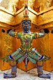 Palais géant et grand - Bangkok, Thaïlande Images stock