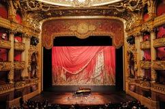 Palais Garnier,歌剧全国de巴黎 库存照片