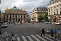 Palais Garnier, αστική περιοχή, ορόσημο, πλατεία της πόλης, πόλη στοκ φωτογραφίες