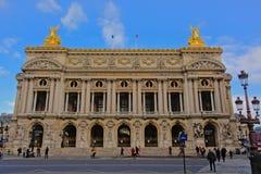 Palais Garnier, οικοδόμηση οπερών του Παρισιού, Γαλλία Στοκ εικόνες με δικαίωμα ελεύθερης χρήσης
