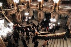 Palais Garnier, опера национальный de Париж Стоковое Изображение