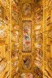 Palais Garnier do telhado, Opera Paris França Imagens de Stock