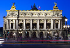 Palais Garnier en París Foto de archivo