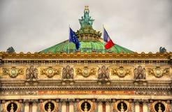 Palais Garnier, a famous opera house in Paris Royalty Free Stock Image