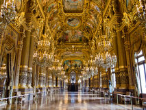 Palais Garnier grand de foyer photographie stock