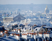 Palais Garnier & Les Invalides Immagini Stock Libere da Diritti