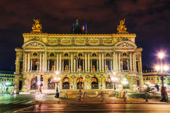 The Palais Garnier (National Opera House) in Paris, France Royalty Free Stock Photos