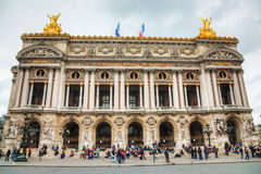 The Palais Garnier (National Opera House) in Paris, France Stock Photo