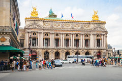 Palais Garnier, old Opera house in Paris Royalty Free Stock Photo