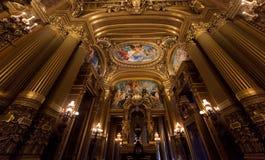 The Palais Garnier, Opera de Paris, architectural details Stock Photography
