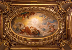 The Palais Garnier, Opera de Paris, architectural details Stock Photo