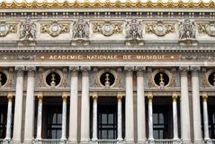 Palais Garnier (Opera House), Royalty Free Stock Images