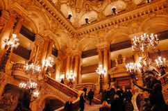 Palais Garnier, Opera National de Paris Stock Photos