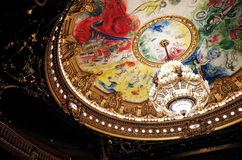 Palais Garnier, Opera National de Paris Stock Photos