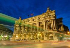 Palais Garnier, Opera in Paris Stock Photos