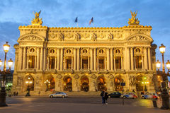 Palais Garnier, Opera in Paris Stock Photography
