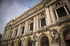 Palais Garnier, Parigi Fotografie Stock