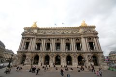 Palais Garnier, Paris Frankreich stockbilder