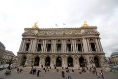 Palais Garnier Paris Frankrike arkivbilder
