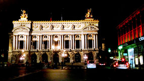 The Palais Garnier in Paris Royalty Free Stock Images