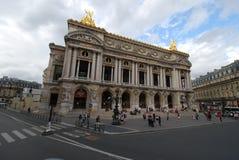Palais Garnier, señal, zona metropolitana, plaza, cielo imagen de archivo libre de regalías