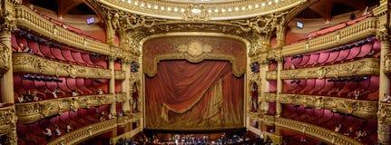Palais Garnier stage Stock Image