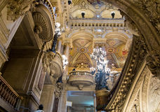 Palais Garnierinre Arkivbilder