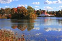 Palais Gatchina, St Petersburg, Russie de Priory photo stock