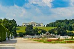 Palais Gloriette de Schönbrunn Images libres de droits