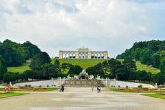 Palais Gloriette de Schönbrunn Photos libres de droits