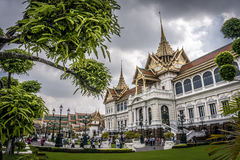 Palais grand à Bangkok, Thaïlande Image libre de droits
