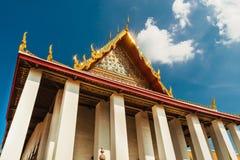 Palais grand au temple de Wat Phra Kaew, Bangkok Images libres de droits