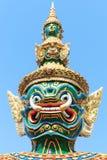 Palais grand Bangkok de Wat Phra Kaew de gardien de démon Photographie stock