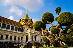 Palais grand, Bangkok, Thaïlande Images libres de droits